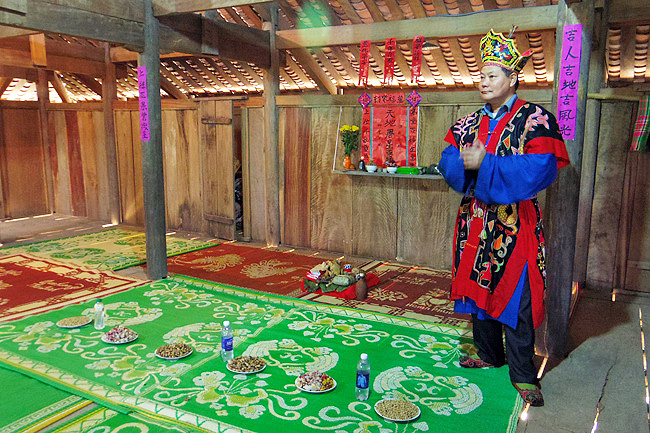 Image: Giay ethnic people's New Year Festival in Ha Giang