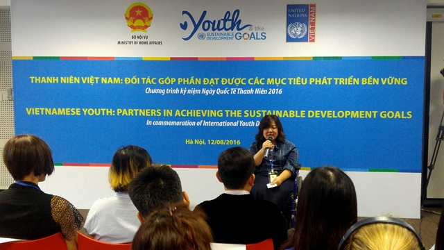 International Youth Day stresses youth's role in fulfilling sustainable development goals