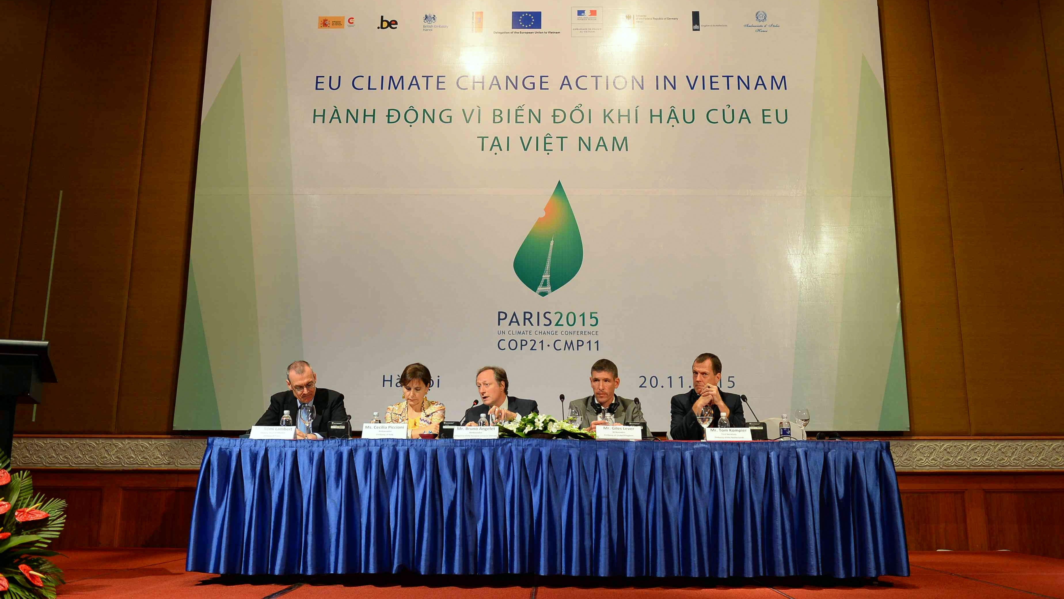 EU enhances support to Vietnam in coping with climate change