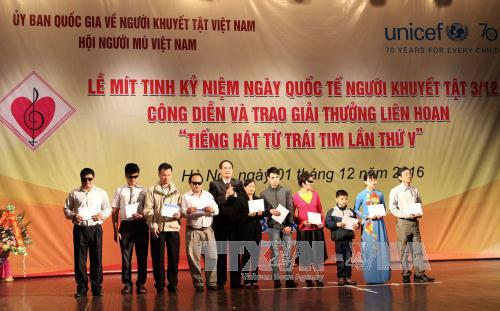 International Day of Persons with Disabilities observed in Vietnam