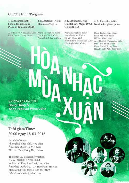 March 14-20: A night of Russian music in Ho Chi Minh City