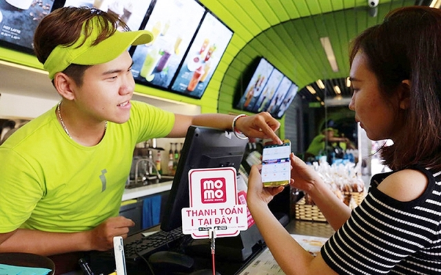 MoMo is one among a number of popular e-wallets with a large number of customers in Vietnam