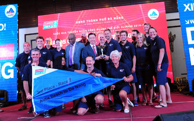 Clipper Race: Award ceremony held for 'Da Nang New Discovery of Asia' leg