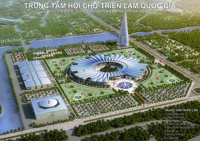 Work starts on Asia's largest exhibition and fair centre in Hanoi