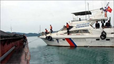 Vietnam's marine police fight crimes at sea
