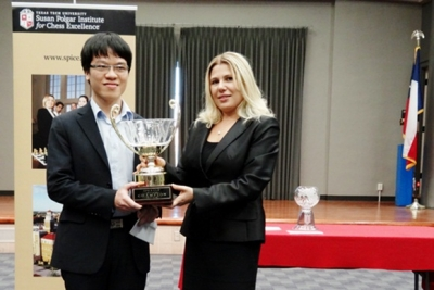 Liem crowned world blitz champion