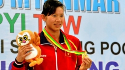 Top ten outstanding Vietnamese athletes at 27th SEA Games