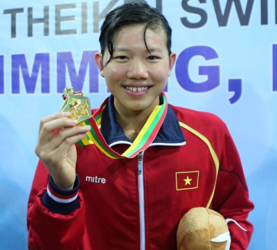 Swimmer Anh Vien listed among world's top 10