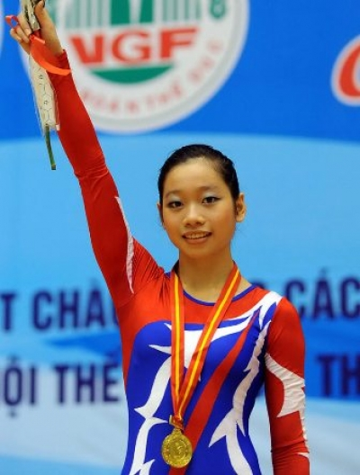 Gymnastics queen looks to take Asiad gold medal