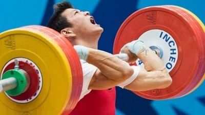 2014 a memorable year for weightlifter Thach Kim Tuan