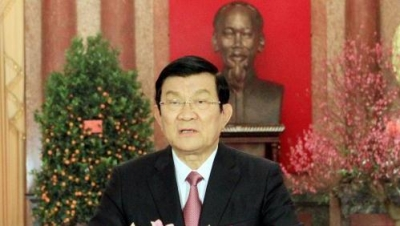 President sends New Year greetings to all Vietnamese