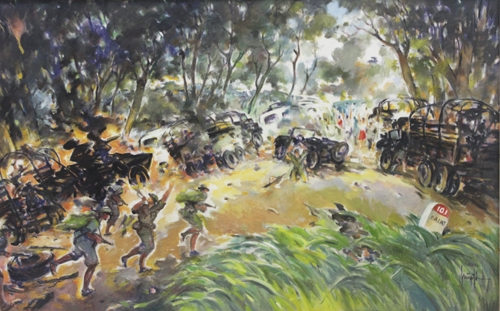Art exhibition on two Vietnam's resistance wars opened