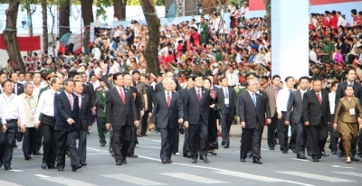 Grand ceremony celebrates 40th anniversary of Liberation of the South and National Reunification