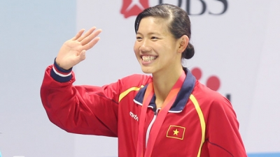 Anh Vien concludes SEA Games competition with eight gold medals