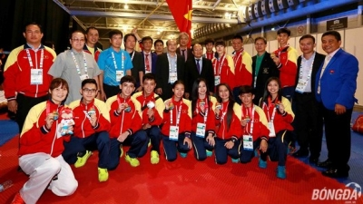 Vietnam dominates SEA Games in taekwondo