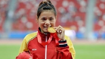 Vietnamese sprinter secures berths at 2016 Olympics