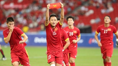 Vietnam settles for bronze in SEA Games football