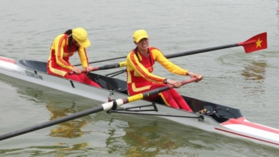 Vietnamese rowers sweep 500m titles in Singapore
