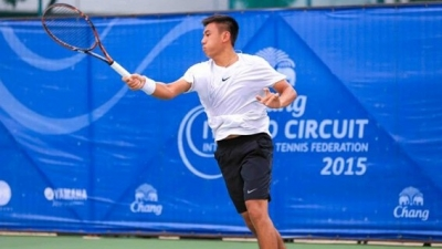 Ly Hoang Nam readies for professional tennis career