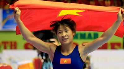 Wrestler Nguyen Thi Lua wins ticket to Rio Olympics
