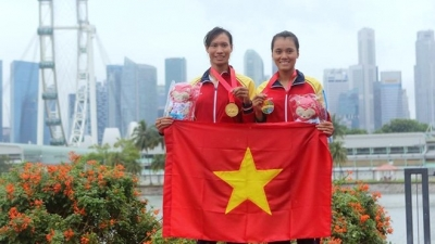 Vietnamese rowing team qualifies for Rio Olympics