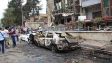 Rebel rockets kill 19 in Aleppo, hit hospital: monitor