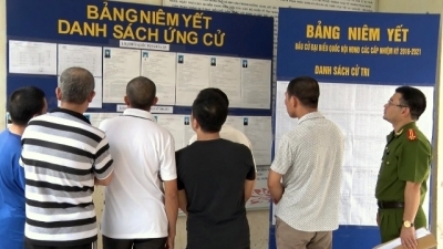 Temporarily detained people to cast votes on election day