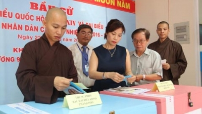 Foreign media highlights Vietnam's general election