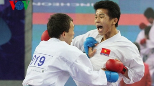 Vietnam successful at Vietnam international open karate championships