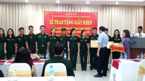 Artists honoured for contributions to Vietnamese expat community