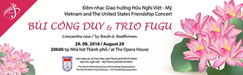 "August 29 – September 4: Concert ""Bui Cong Duy & Trio FUGU"" in Ho Chi Minh City"