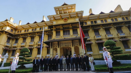 Foreign Ministry' headquarters recognised as national relic site