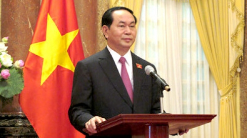 Vietnam is willing to co-operate and contribute to promoting and protecting the common interests of the international community: President