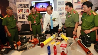 Exhibition showcases latest technology on fire prevention and rescue