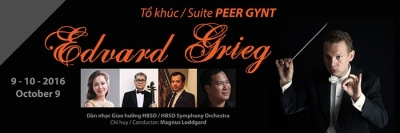 "October 3 - 9: Concert ""Edvard Grief & the Peer Gynt Suite"" in Ho Chi Minh City"