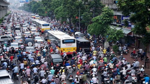 To reduce urban traffic congestion, start with plan