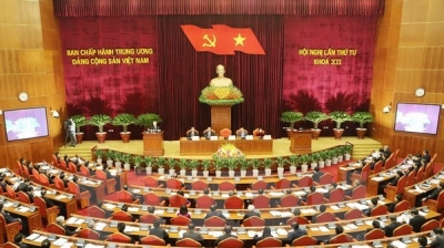 October 3-9: 12th Party Central Committee convenes fourth plenum