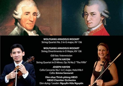 "November 7-13: Concert ""A Night of Haydn & Mozart"" in HCMC"