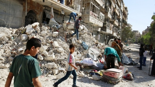 A critical bottleneck on the frontlines in Aleppo