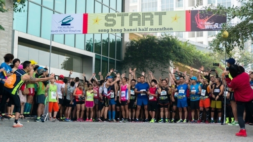 Over 600 people run for wildlife protection