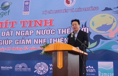 Vietnam stresses wetlands' role in disaster risk reduction
