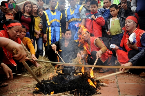 Traditional festivals joyfully observed throughout the country