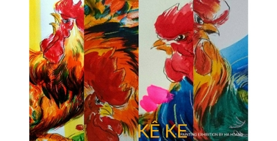 "February 6 - 12: Painting Exhibition ""Ke Ke"" by Ha Hoang"