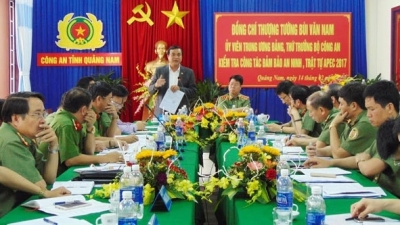 Quang Nam works to ensure security for APEC events