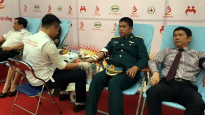 Tens of thousands participate in Vietnam's largest blood donation festival