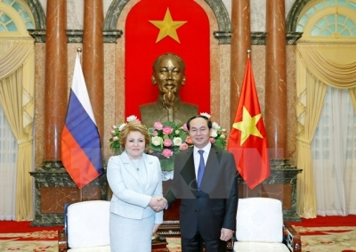 President expects breakthroughs in Vietnam-Russia economic cooperation