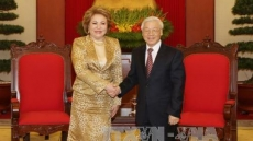 Russia to make utmost efforts to bolster ties with Vietnam: Matvienko