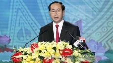 President asks for Thanh Hoa's rapid, sustainable growth