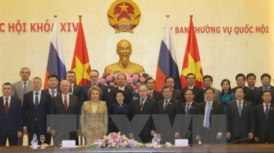 Russia's Federal Council Chairwoman wraps up Vietnam visit
