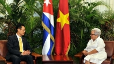 Cuban Vice President pins high hopes on ties with Vietnam